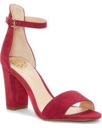 Vince Camuto - Corlina Ankle Strap Sandal - Lyst