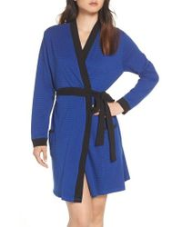 Naked - Power Stripe Robe - Lyst