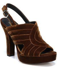 Diane von Furstenberg - Tabby Platform Sandal - Lyst