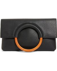 BP. - Faux Leather Circle Clutch - - Lyst