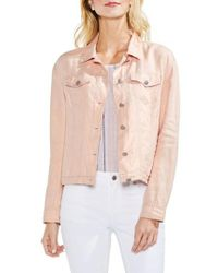 Vince Camuto   Classic Linen Jacket   Lyst