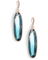 Vince Camuto | Ombre Stone Statement Earrings | Lyst