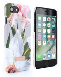Ted Baker - Rebbeca Chatsworth Bloom Iphone 6/6s/7/8 Case - Lyst