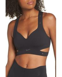a3f61c58e7 Nike Lab Xx Women s Dri-fit Training Bodysuit in Black - Lyst