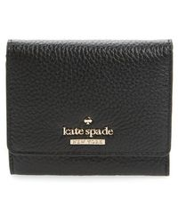 Kate Spade - Jackson Street Jada Leather Wallet - - Lyst