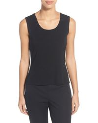 Ming Wang - Scoop Neck Tank - Lyst