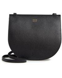 OAD NEW YORK - Luna Leather Crossbody Bag - Lyst