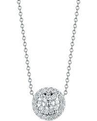 Kwiat - 'sunburst' Pendant Necklace - Lyst