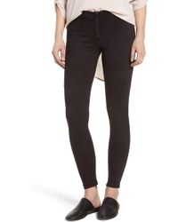 David Lerner - Faux Suede Leggings - Lyst