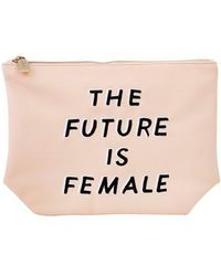 Sonix - The Future Is Female Faux Leather Everyday Pouch - - Lyst