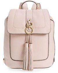 Cole Haan - Cassidy Rfid Pebbled Leather Backpack - Lyst