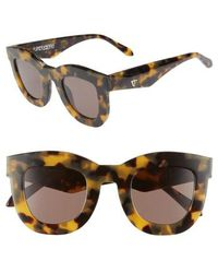 Valley Eyewear - Provisions 44mm Rounded Square Sunglasses - - Lyst