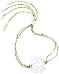 Daisy London - 'heart Chakra' Cord Bracelet - Lyst