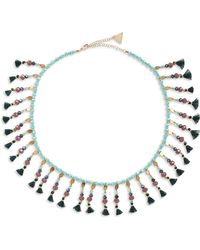 Serefina - Fluid Floral Collar Necklace - Lyst