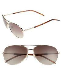 Marc Jacobs - 59mm Aviator Sunglasses - Lyst