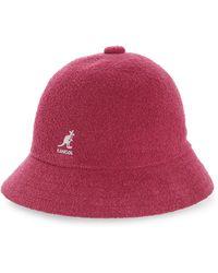2f1d74ea Kangol Dip Dye 507 Flat Cap in Pink - Lyst