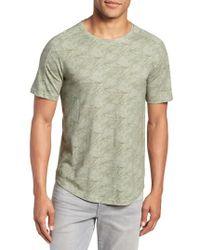 W.r.k. - Chelsea Marble Print T-shirt - Lyst