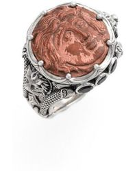 Konstantino | 'aeolous' Greek Coin Ring | Lyst