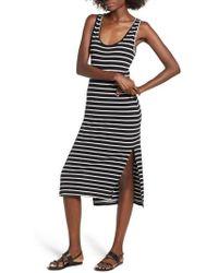 Rip Curl - Essentials Stripe Midi Dress - Lyst