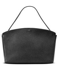 Shinola - Curved Latigo Leather Satchel - Lyst