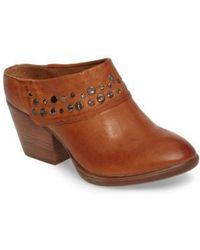 239b5e6c23628f Steve Madden Gila Leather Studded Sandals in Black - Lyst