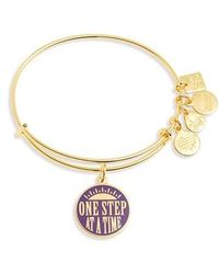 ALEX AND ANI - Kindred One Step At A Time Bangle - Lyst