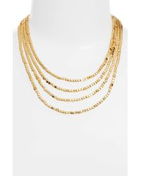 Karine Sultan - Ava Collar Necklace - Lyst