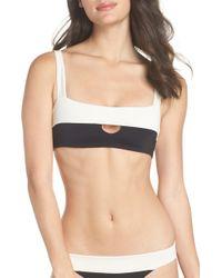 L*Space - Turlington Reversible Bikini Top - Lyst