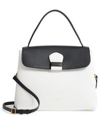 Burberry - Medium Camberley Colorblock Leather & House Check Top Handle Satchel - Lyst