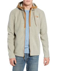 The North Face - Pyrite Sweater Knit Fleece Hoodie - Lyst