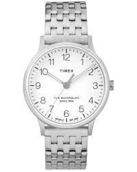 Timex - Timex Waterbury Bracelet Watch - Lyst