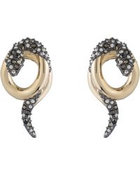 Alexis Bittar - Coiled Snake Earrings - Lyst