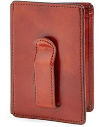 Bosca - 'old Leather' Front Pocket Id Wallet - Lyst