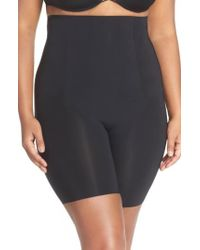 Spanx - Spanx Thinstincts(tm) High Waist Mid-thigh Shorts - Lyst