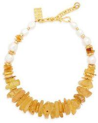 Lizzie Fortunato - Collar Necklace - Lyst