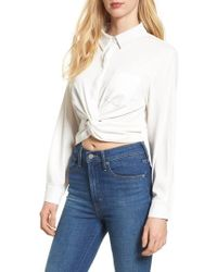 BISHOP AND YOUNG Bishop + Young Alexandra Twist Blouse
