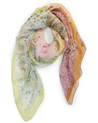 Etro - Paisley Silk Scarf - Lyst