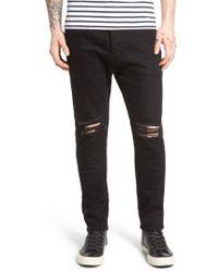 Zanerobe - Joe Blow Destroyed Denim Jeans - Lyst