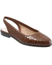 Trotters - Lucy Slingback Flat - Lyst