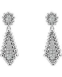Lagos - Caviar Spark Diamond Earrings - Lyst
