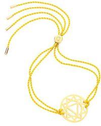 Daisy London - 'solar Plexus Chakra' Cord Bracelet - Lyst