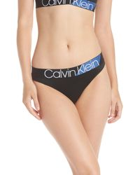 Calvin Klein - Logo Thong - Lyst