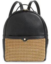mali + lili - Mali + Lili Harper Lili Basket Weave Backpack - - Lyst