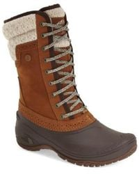 The North Face | Shellista Waterproof Insulated Snow Boot | Lyst