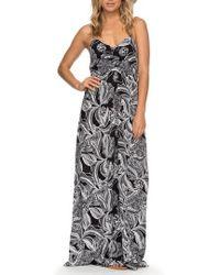 Roxy - Brilliant Stars Print Maxi Dress - Lyst