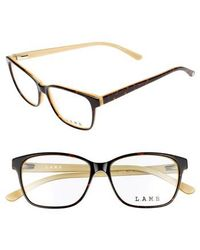 L.A.M.B. - 54mm Square Optical Glasses - Lyst