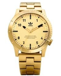 adidas - Cypher Bracelet Watch - Lyst