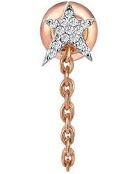 Kismet by Milka | Diamond Earring | Lyst