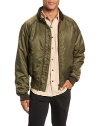 Baracuta - G9 Water Resistant Insulated Flight Jacket - Lyst