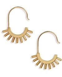 Madewell - Succulent Drop Earrings - Lyst
